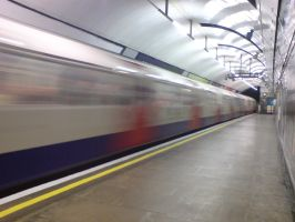 London Tube 01 by Fea-Fanuilos-Stock
