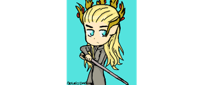 thranduil (muro) by ThePastelHobbit
