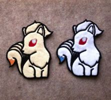 Pokedoll Style Ninetales Patch by TheHarley