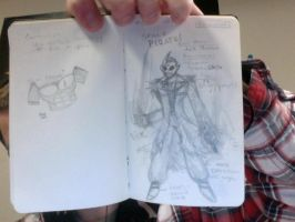 Omaghron- King Of Pirates Resketch by EclecticWhiteRaven