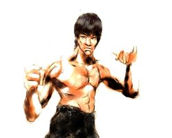Bruce Lee by MauriceDiekmann