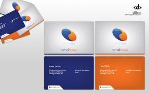 Romel Howe business cards by vijay-dffrnt
