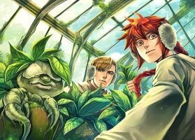 EHW : The Greenhouse by Ecthelian