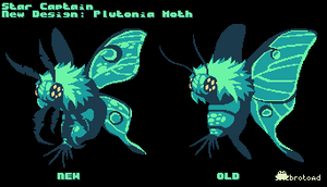 Star Captain: New Plutonia Moth design by brotoad