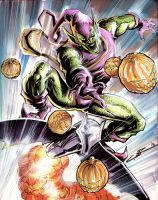Green Goblin by Cinar