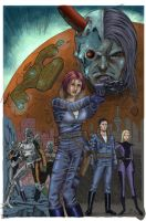 Space and Time Cover by artistjoshmills