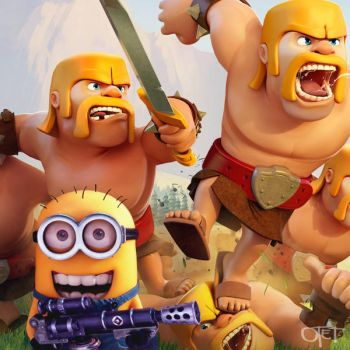 Minion in 'Clash of Clans' by otettttt