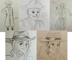 Fallout Sketchdump by Lemon-Death