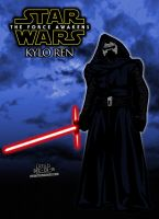 Kylo Ren from Star Wars The Force Awakens! by CreedStonegate