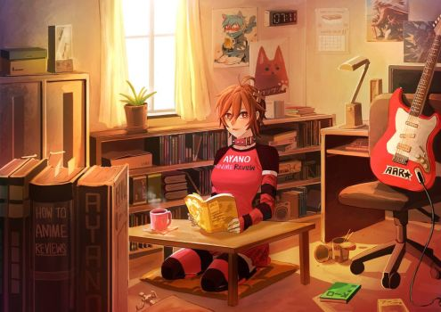 Anime room by YUNZ302