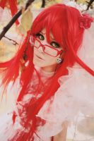 Grell bride by Dantelian