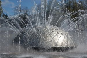 International Fountain closeup by Bspacewiz2