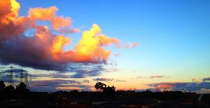 Coloured Cloudscape. by Shutter-Bug1