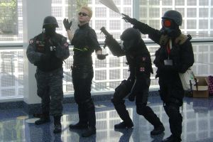 Ax 2010 - Wesker and His Crew by MattJeevasLover