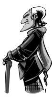 Whoodles: the First Doctor by SkipperWing