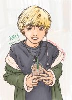 Kris with coffee~ by RUI09
