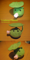 Leafmon Plushie by SethImmortal