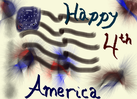 Happy 4th America by Snowflake20t