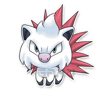 The Porcupine Fakemon by Neliorra