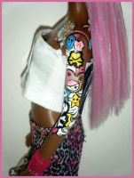 tokidoki Barbie - African American version by kalavista