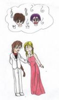 Marron and Duo -- Prom Night by Izumichan