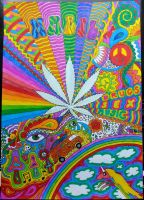 Psychedelic world by Ananabelle