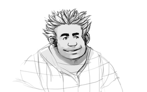 Wreck-It Ralph WIP by KaywonnJuto
