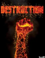 Fist of Destruction by Xhenya