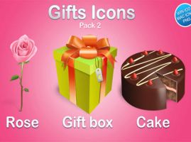 Gifts icons pack by FreeIconsFinder