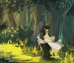 Zeref and Mavis by stellamareis