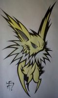 Pokemon - Jolteon Remix by SpaceCowboy-D