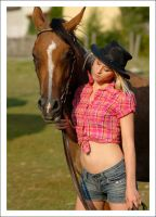 Girl and Horse 2 by Boas73