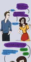 Loki x Darcy - This is Halloween II by riotfaerie
