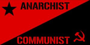 Anarchist Communist Flag by TapiocaDeath