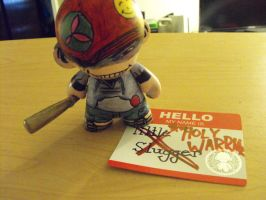 Munny: Lil Slugger by ScarecrowArtist