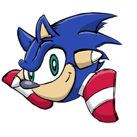 Sonic Kirby by AcerBandit