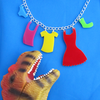 Clothesline Necklace by fairy-cakes