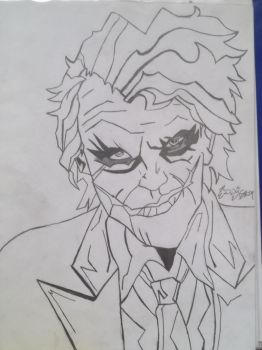 The Joker From the dark knight by EddySixX