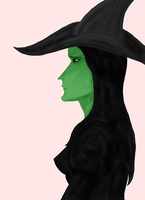Elphaba by WolvenBane08