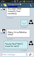 Changkyu Text Messages 3 by MangaandAnimeLuver