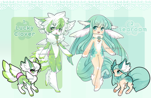 .:CLOSED AUCTION:. Wingu collab with catfinches by ValyrianAdopts