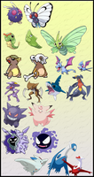 POKEMON SIMILARITY CONSPIRACIES by fcbayernmunchen