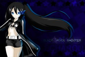 Black Rock Shooter by echaron