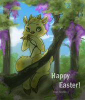 Easter-Spring Faun thingy by neohin