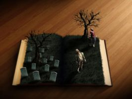 Zombies Pop Up Book by giacko