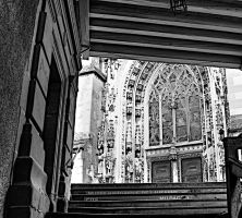 Lausanne Cathedral by luethy