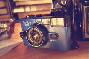 Blue Camera by MaithaNeyadi