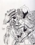 TM2 Dinobot by Inker-guy