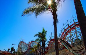 Mission Beach roller coaster by ShannonCPhotography