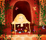 Young Rapunzel by Ezelie